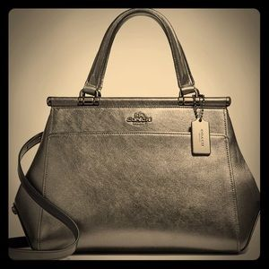 COACH Metallic Grace Bag